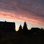 sunset view nature poland villagelife polonization nofilter