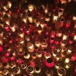 allsaintsday wszystkichswietych grobbing candles lanterns cemetery beautiful poland polonization autumnhellip