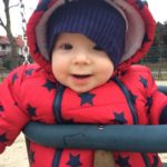 swinging winter winterwithbaby poland polonization littleboy maks